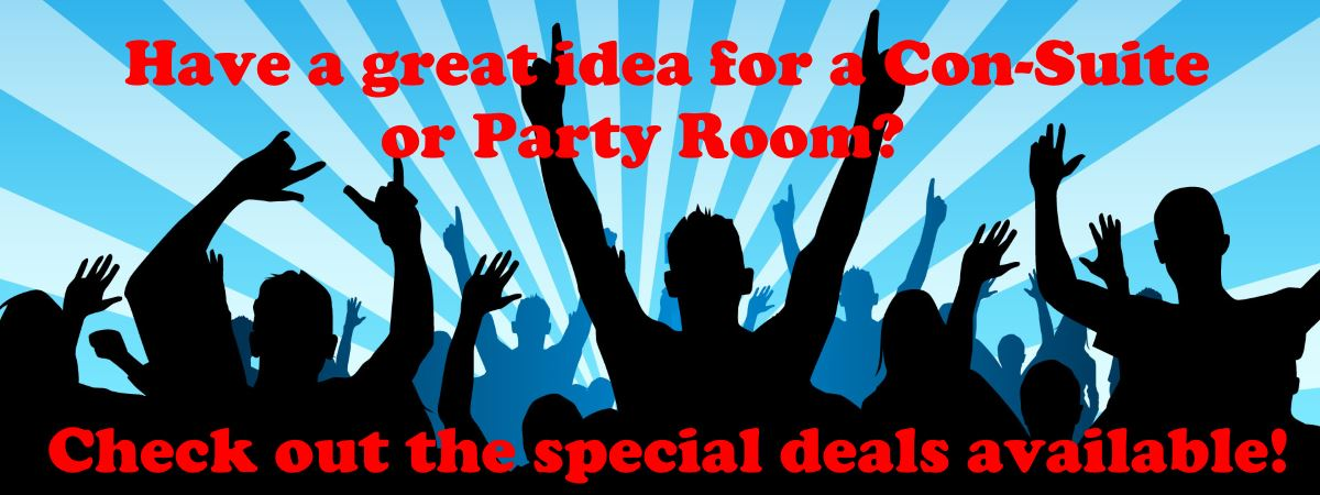 Got a great idea for a Con-Suite or Party Room?